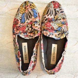 Steve Madden Floral Print Loafer